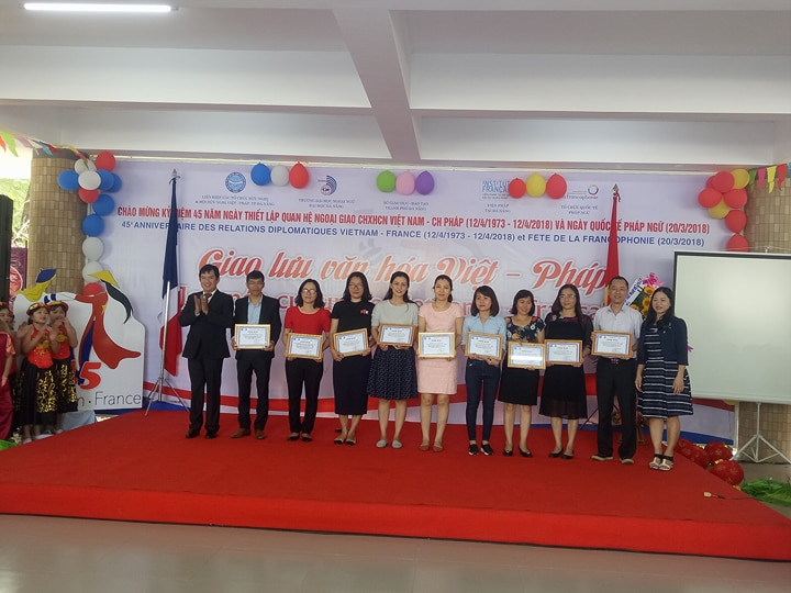Exciting activities at the Vietnam-France Cultural Exchange Day in Da Nang