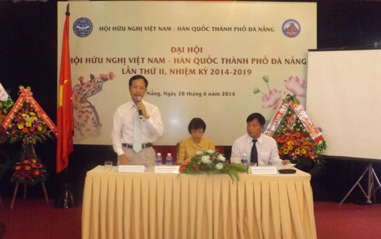 Đại hội Hội hữu nghị Việt - Hàn thành phố Đà Nẵng nhiệm kỳ 2014 - 2019