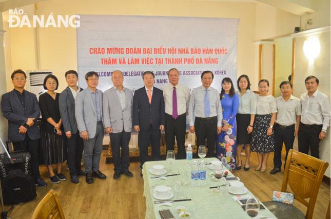 Tăng cường hợp tác giữa Báo Đà Nẵng và Hiệp hội báo chí Hàn Quốc