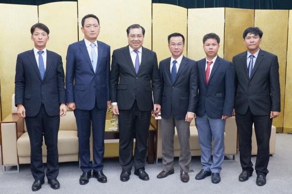 Đẩy mạnh hợp tác toàn diện Đà Nẵng - Hàn Quốc