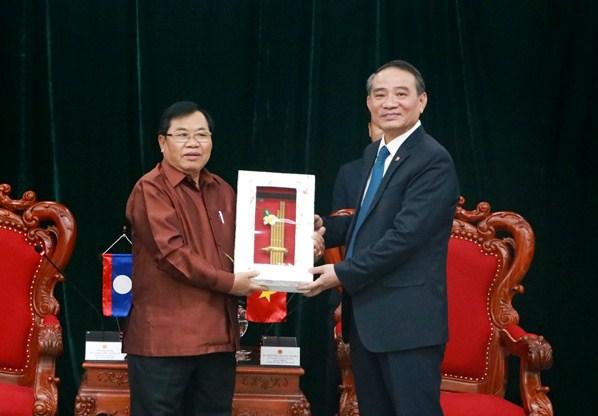 Phó Chủ tịch Quốc hội Lào thăm và làm việc tại Đà Nẵng