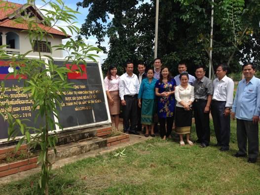 Hội hữu nghị Việt - Lào thành phố Đà Nẵng đã tổ chức chuyến công tác thăm hữu nghị các tỉnh Trung Nam Lào