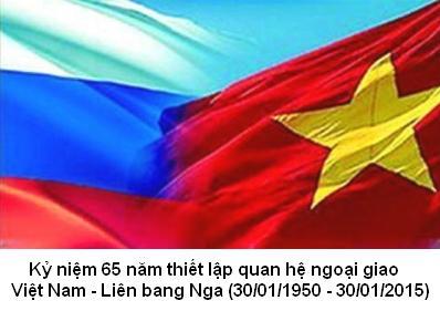 Quan hệ Đối tác chiến lược toàn diện Việt - Nga: 65 năm một chặng đường