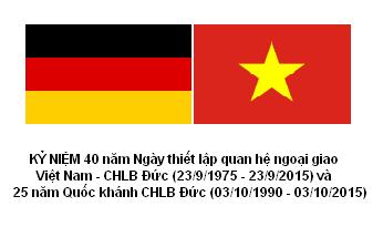 Quan hệ Việt - Đức phát triển tốt đẹp