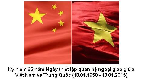 Nhiều hoạt động kỷ niệm 65 năm quan hệ ngoại giao Việt-Trung